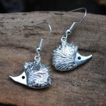 Hedgehog earrings E38